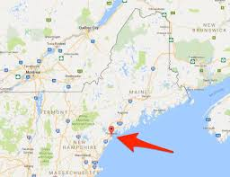 map of maine cities what to do in portland maine business insider