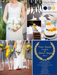trending navy blue wedding color ideas fall 2014