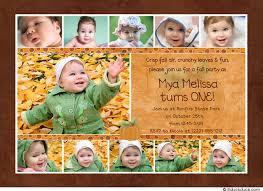 1st birthday collage card photos invitation little one
