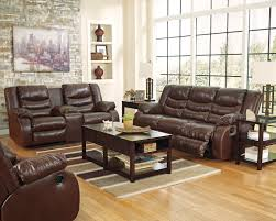 Double Recliner Double Recliner Sofa With Console Cleaning Microfiber Four Seasons