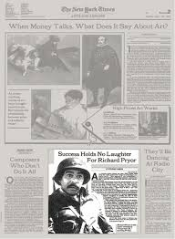 sle resume for newspaper journalist salary reporters notebook success holds no laughter for richard pryor the new york times