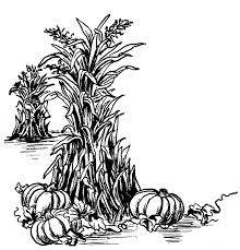 thanksgiving clipart black and white free best