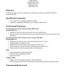 Administrative Assistant Duties For Resume Administrative Duties Resume Executive Administrative Assistant