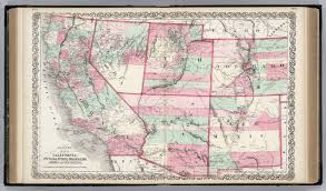 Map Of Colorado And Utah by California Nevada Utah Colorado Arizona And New Mexico