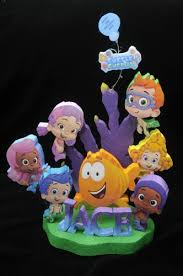 guppie cake toppers guppies cake topper centerpiece guppies party