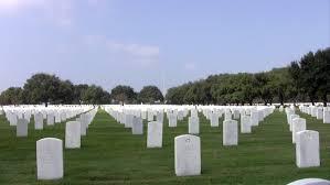 headstones houston zoom in fort sam houston veterans cemetery headstones and