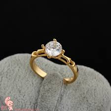 married ring for italina courtship married finger ring simulation drill