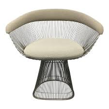 arm chair designed by warren platner and produced by knoll in