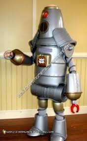 Robot Halloween Costume Coolest Homemade Robot Halloween Costume