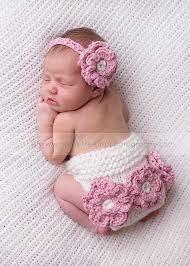 crochet flower headband headband and cover set newborn headband with crochet
