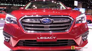 Subaru Legacy Redesign 2018 Subaru Legacy Limited Exterior And Interior Walkaround