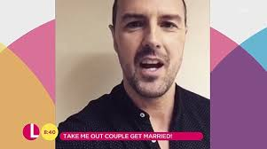 does paddy mcguiness use hair products paddy mcguinness wasn t invited to take me out wedding daily