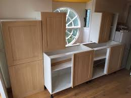 Wickes Fitted Bedroom Furniture Wickes Tulsa Oak Effect Kitchen Units New Assembled Rrp 419 In