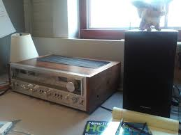 am i crazy vintage pioneer sx 780 sounds better than outlaw audio