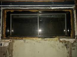 Replacing A Basement Window by Terrific Steel Basement Windows How To Remove Window Frame