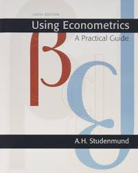 using econometrics a practical guide 6th edition a h