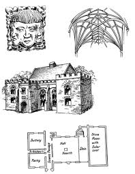 Medieval Floor Plans Plan Of Medieval House All Manors And Castles Pinterest
