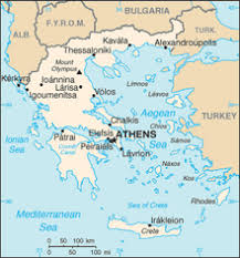 blank map of ancient greece outline of greece