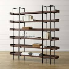 40 Inch High Bookcase Bookshelves Crate And Barrel