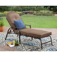 Patio Lounge Furniture by Costway 3 Piece Wicker Rattan Chaise Lounge Chair Set Patio Steel