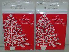 hallmark christmas greeting invitations ebay