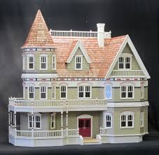 the queen anne victorian dollhouse kit is the ultimate dream house
