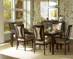 Building Dining Room Chairs by Stunning Espresso Dining Room Set Contemporary Home Ideas Design
