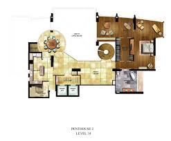 luxury residences in jakarta shangri la hotel 4 penthouses