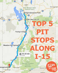 Logan Utah Map by 57 Places To Help Break Up I 15 The Salt Project Things To Do