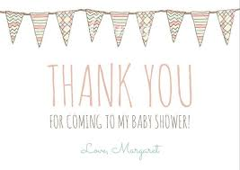 thank you cards for baby shower customize 36 baby shower thank you card templates online canva