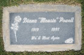 Where Is Diana Buried by Palm Springs