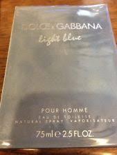 light blue men s cologne light blue men s fragrance ebay