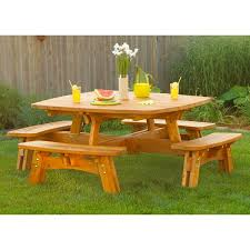 Woodworking Plans And Project Ideas Octagon Picnic Table Plans by 49 Best Picnic Tables Images On Pinterest Woodwork Round Picnic