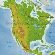 central america physical map physical features map of usa map of usa