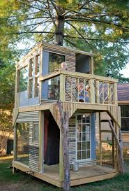 Simple Backyard Tree Houses by Woodworking Simple Backyard Treehouse Plans Plans Pdf Download