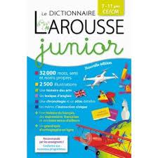 dictionnaire cuisine francais le dictionnaire larousse junior livre français cultura
