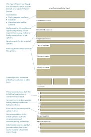 online technical writing recommendation and feasibility reports
