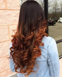 how to fade highlights in hair dark brown hairs 40 fresh trendy ideas for copper hair color