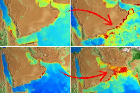 middle east map changes amazing nasa map shows how climate change altered the of our