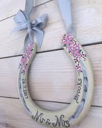 horseshoe wedding gift wedding horseshoe gifts custom made horseshoes