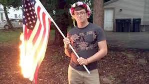 Illegal To Burn American Flag Urbana Man Gets 15 000 In Settlement Of Flag Burning Lawsuit