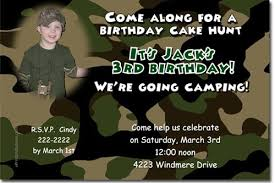 army camouflage camo birthday invitations click for add u0027l