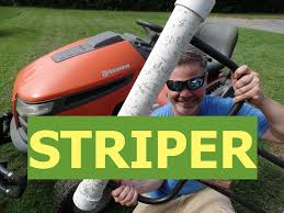 diy lawn striper for riding mowers youtube