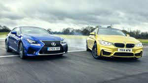 lexus coupe drop top bmw m4 vs lexus rc f fight