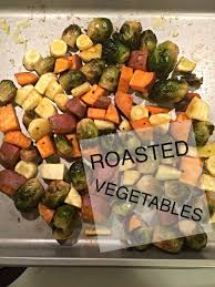 healthy thanksgiving roasted vegetables