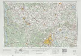 State Map Of Tennessee by Nashville Topographic Maps Tn Ky Usgs Topo Quad 36086a1 At 1