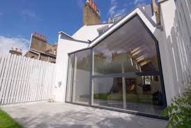 elegantly defined by terrace overhang track folding glass wall