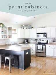 How To Update Kitchen Cabinets Painting Kitchen Cabinets Our Process Saffron Avenue Saffron