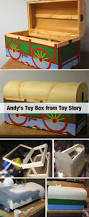 Build A Toy Chest Video by How To Build Andy U0027s Toy Chest From Toy Story Toy Room And Toy