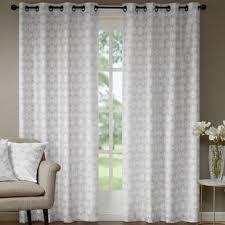 Grey Metallic Curtains Gray Metallic Curtains Wayfair